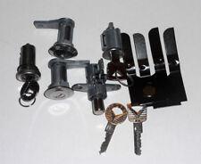1965 1966 Mustang door ignition trunk locks glovebox latch set 526