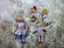 VINTAGE MIX LOT OF  Cabbage Patch kids pvc mini figurines