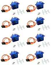 JX Servo SG90 9G Micro Mini Servo - 10 Pack