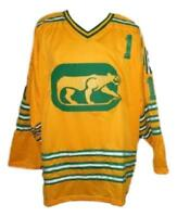 Any Name Number Size Chicago Cougars Custom Retro Hockey Jersey Dryden