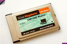 3COM MegaHertz PCMCIA PC CARD 10/100 LAN + Modem56 : 3CCFEM556B