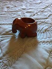 vintage ceramic elephant volatile figurine, Mcm