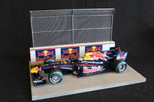 QSP Diorama 1:18 Starting grid with wall and high fence (Red Bull)