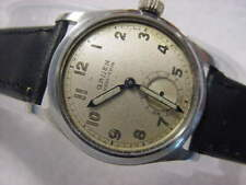 Vintage large antique WWII World War II MILITARY GRUEN mens watch