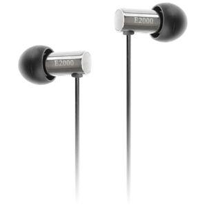 Final E2000S In Ear Isolating Earphones - Silver Aluminium - Refurbished