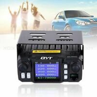 QYT KT-7900D Quad Band VHF UHF Car Mobile Radio Walkie Talkie + Mic + Car Cable
