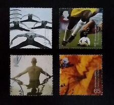 Complete GB used stamp set - 2000 Body & Bone Millennium series