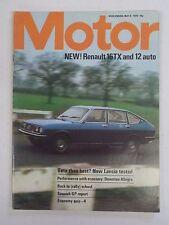 MOTOR No. 3734 Vtg 1974 England International Car Magazine RENAULT 16TX Cover