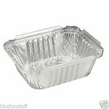 "Gas Grill Aluminum Foil Grease Drip Pans Cooking Pans (10) Tins 7"" x  5"""