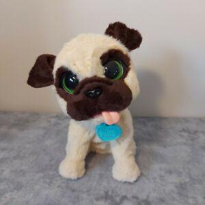 Fur Real Friends JJ Jumping Pug 10 Inch Interactive Dog Hasbro Barks FurReal