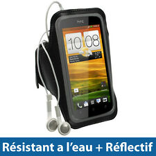 Noir Brassard Sport pour HTC One S Android Smartphone Jogging 1
