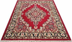 Floral Carpet Of Acrylic - 3 x 5 ft - Rectangular Shaped - Multicolor - 1 Pc