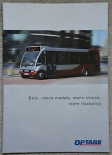 More details for optare solo bus brochure