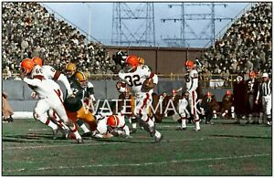 Jim Brown Cleveland Browns at Packers ULTRA RARE  PRINT (4 sizes)