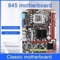 945 Desktop Motherboard M-ATX USB2.0 SATA2.0 DDR3 2 Channel for LGA 771/775Mzh O