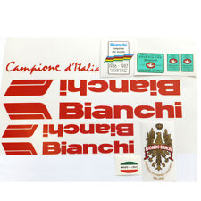Bianchi 80s decal set Campione d' Italia for vintage classic bicycle