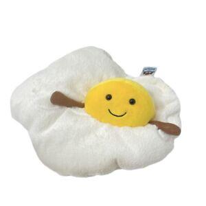 "Jellycat Amuseables Fried Egg Plush 9"" Food"