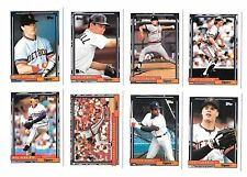 1992 TOPPS MLB BASEBALL DETROIT TIGERS TEAM SET (28) TRAMMELL,FIELDER,WHITAKER