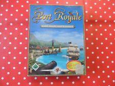 Port ROYALE parte 1 EDIZIONE ORO PC Gioco in Big box con istruzioni scheda