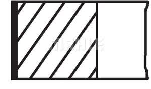 1 Jeu de segments de pistons MAHLE 039 RS 00116 0N0 convient à PEUGEOT
