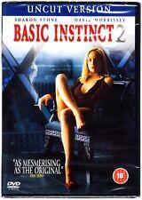 BASIC INSTINCT 2 DVD Sharon Stone Uncut Version Region 2  New & Sealed
