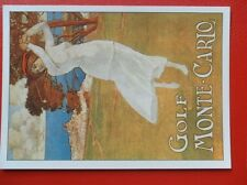 POSTCARD  ART ADVERT - GOLF MONTE-CARLO