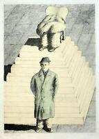 Siegfried Neuenhausen: Ohne Titel. 1971. Farbiger Siebdruck.
