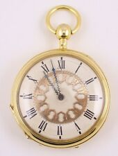 RARE REPEATER MINUTE POCKET WATCH, C.1815 RARE UNUSUAL