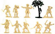 Charbens Recasts - Pirate Set - 60mm plastic - like Marx, Fontanini, Jecsan