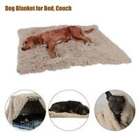 Haustier Großes Hundebett Katzenmatte Weiches Plüschkissen Reißfestes Waschbar
