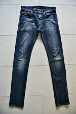 Dior Homme Blue Denim Jeans Pants Skinny Under My Car UMC 09 Rare New 30 31 32