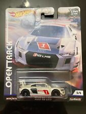 Hot Wheels Audi R8 Lms Open Truck New Real Riders