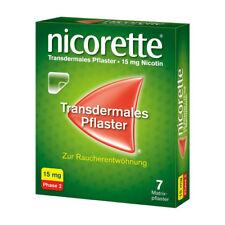 NICORETTE TX Pflaster 15 mg 7St PZN 03273371