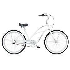 Electra Cruiser Lux 3i Damen Fahrrad Weiß 24 Zoll Beach Cruiser Retro Stadt Rad