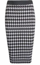 Calf Length Straight, Pencil Regular Size Skirts for Women