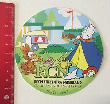 Aufkleber/Sticker: RCN Recreatiecentra Nederland Campings-Bungalows (06061655)