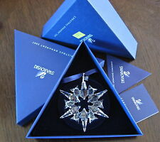Swarovsk Crystal 2007 Large Annual Star Snowflake Ornament,  #9400NR000104