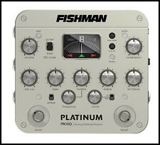 Fishman Platinum Pro EQ Acoustic Guitar DI Analog Preamp PRP-PLT-201