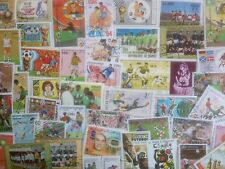 200 Different Football/Soccer on Stamps Collection