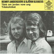 "Benny & Björn (ABBA) - Tänk om jorden vore ung / Träskofolket 7"" Single"