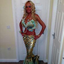 mermaid corset costume  810 12 14 made to measure Ariel pirate