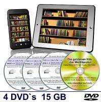 E Book Sammlung auf 4 DVD's, Über 15 GB  ✔ Kinder, Krimi, Abenteuer Romane uvm