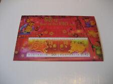 AUSTRALIA: CHRISTMAS ISLAND 2007 LUNAR NEW YEAR-YEAR OF PIG SOUVENIR SHEET