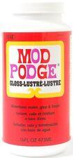 Mod Podge Waterbase pegamento, sellador y acabado brillo, 473ml, 16Oz.