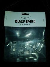 Black Eagle Crossbow Capture Nock - Clear - 12 Pack