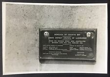 VINTAGE PHOTOGRAPH Sea Defences Sign 1964 COLWYN BAY Wall WALES 649