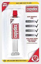 Copydex 50ml Tube Adhesive Solvent Free Fabric Carpet Leather Craft Glue