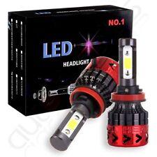 2018 H11 LED Headlight Xenon White 6000K 640W 768000LM Kit Bulbs High Power