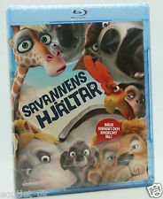 Animals United Blu-ray Region B NEW SEALED Stephen Fry Andy Serkis James Corden