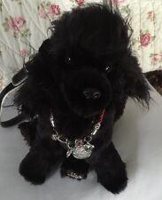 Beautiful, Rare Fuzzy Nation Black Poodle Puppy Purse Handbag